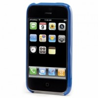 Flick Hard Case for iPhone 3G - Blue 1