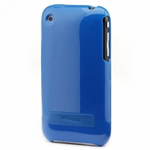 Flick Hard Case for iPhone 3G - Blue 2