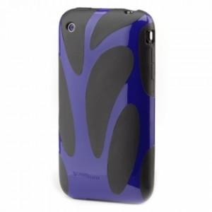 Fusion Hard Case for iPhone 3G - Violet/Black 2
