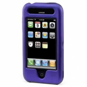 Contour HardSkin for iPhone 3G - Violet Pearl 1