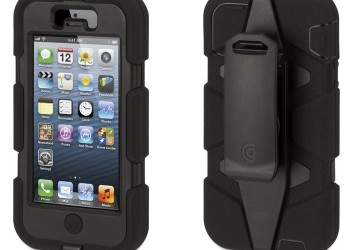 Griffin Survivor for iPhone 5/5s/SE* – Black