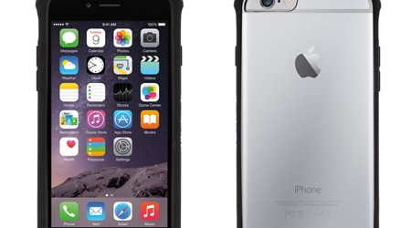 Griffin Survivor Clear for iPhone 6/6s Plus – 5.5″ – Black/Clear