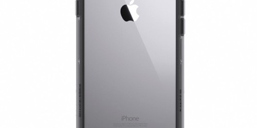Griffin Survivor Clear for iPhone 7/6s/6 – Black Smoke/Clear