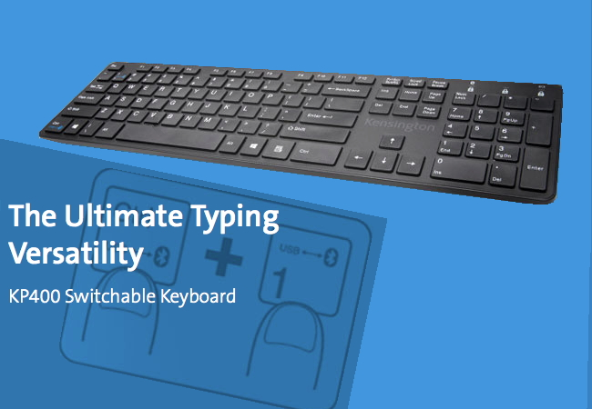 KP400 Switchable keyboard